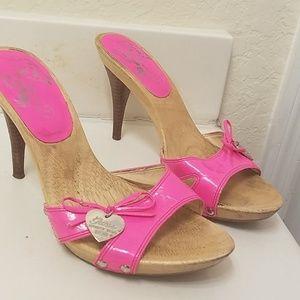 Hot pink Guess Heels